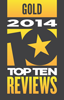 TopTenREVIEWS Silver Award