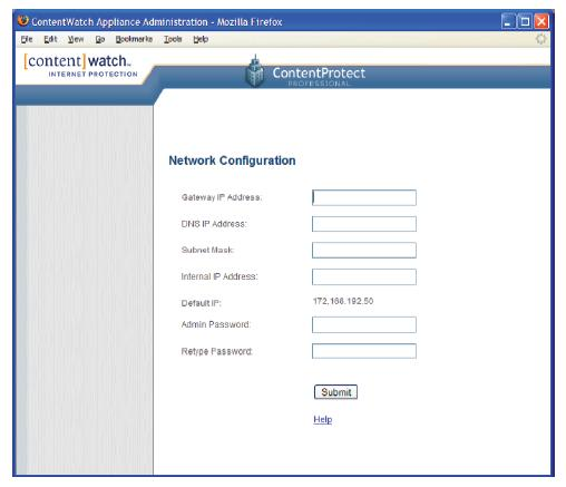 Configuring your IP Setup